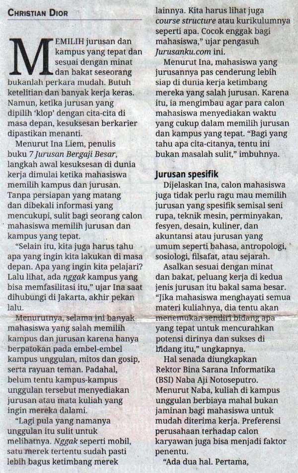 Media Indonesia - Jurusan Unggulan p2